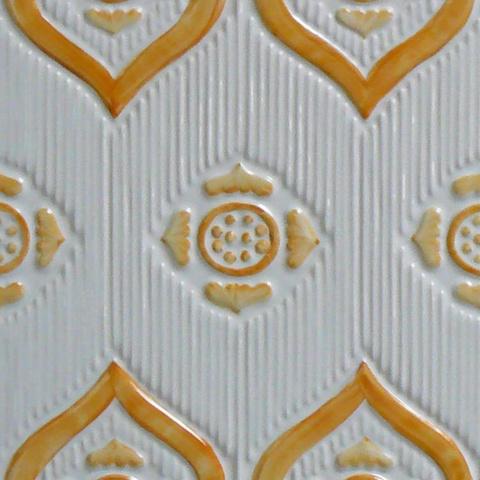 Bild: K 222 · Glasur 1048 gelb hell/dunkel dekoriert