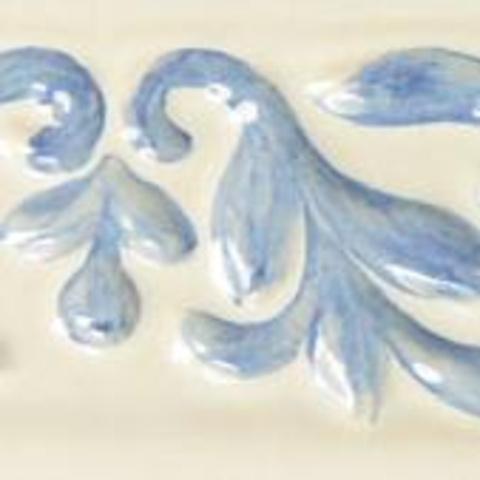 Bild: ZL 5 Glasur 1040 blau dekoriert