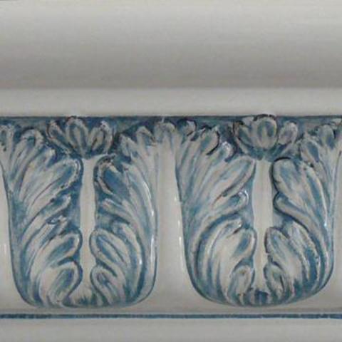 Bild: Sims 177 Glasur 1040 blau dekoriert