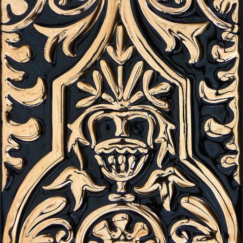 Bild: K 216 · Glasur 1046 Gold dekoriert