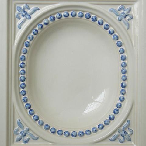 Bild: K 418 · Glasur 1040 blau dekoriert