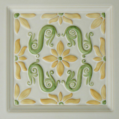 Bild: K 634 »Bozen« · Glasur 510 bunt dekoriert