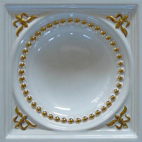Bild: K 418 · Glasur 1040 gold dekoriert